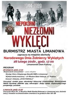 Miejskie obchody Narodowego Dnia Żołnierzy Wyklętych
