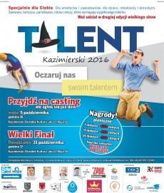 Talent Kazimierski - zapraszamy na casting