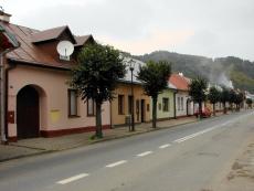 Ulica Kościelna w Muszynie