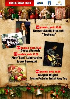 Koncerty podczas Targów Bożonarodzeniowych