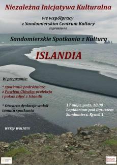 Sandomierskie Spotkania z Kulturą: Islandia