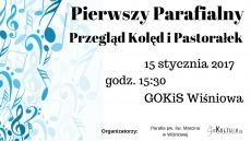 Pierwszy Parafialny Przegląd Kolęd i Pastorałek