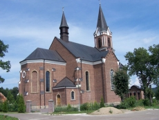 Neogotycki Kościół w Grabownicy Starzeńskiej