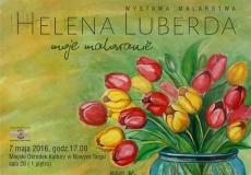 Wystawa malarstwa Heleny Luberdy