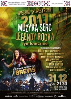 Legendy Rocka – Muzyka Serc. Sylwester 2017 symfonicznie