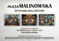 Wernisaż wystawy malarstwa Mai Malinowskiej
