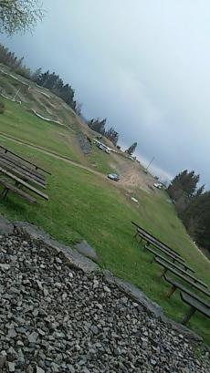 Góra Przykiec. Tor motocrossowy