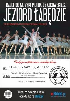 """Widowisko Baletowe """"Jezioro Łabędzie"""" do muzyki Piotra Czajkowskiego"""