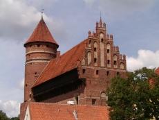 Zamek kapituły warmińskiej w Olsztynie