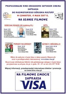Maraton Filmowy w Kazimierskim Ośrodku Kultury