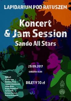 Koncert zespołu Sando All Stars