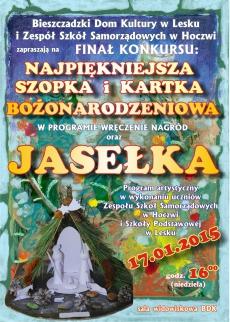 Jasełka oraz wystawa szopek