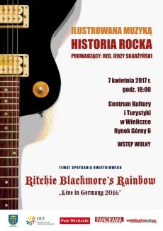 """ILUSTROWANA MUZYKĄ HISTORIA ROCKA: Ritchie Blackmore's Rainbow """"Live in Germany 2016"""""""