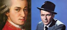 GALA MUZYCZNA  MOZART KONTRA SINATRA - multimedialna podróż przez muzykę i sztukę XIX i XX wieku. Między muzyką klasyczną, a rozrywkową: symbioza, czy odwieczna walka o ideały muzyczne?