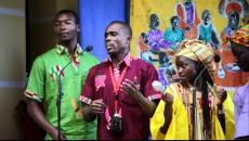 Koncert CLARET COSPEL  z Wybrzeża Kości Słoniowej /Afryka/  pod dyrekcją Didie Eloge Yaba