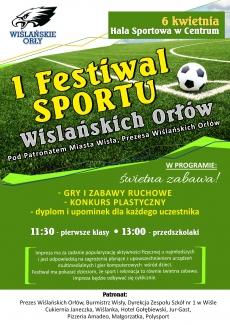 I Festiwal Sportu Wiślańskich Orłów