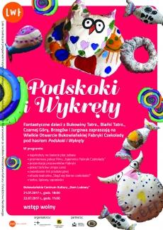 """PODSKOKI I WYKRĘTY, czyli finał """"Lata w teatrze"""" w Bukowinie Tatrzańskiej!"""