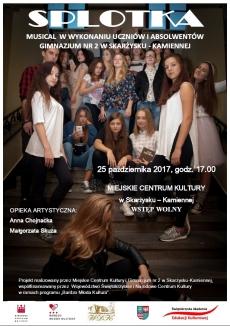 Musical SPLOTKA w wykonaniu uczniów i absolwentów Gimnazjum nr 2 w Skarżysku-Kam.