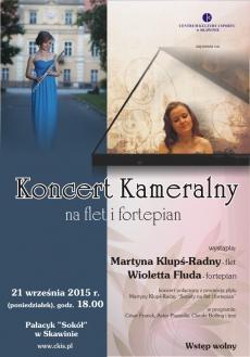 Koncert Kameralny na flet i fortepian