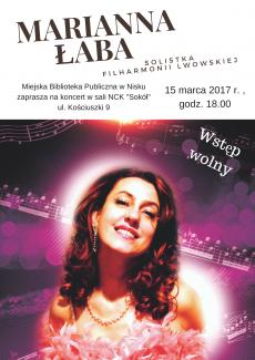 Marianna Łaba koncert