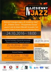 """Koncert Inaugurujący IV """"Jesienny Jazz"""""""