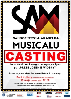 Casting do musicalu rockowego