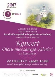 """Koncert Chóru mieszanego """"Gloria"""" ze Skoczowa"""