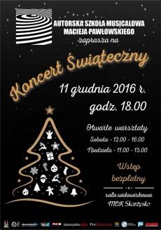 Koncert Świąteczny w wykonaniu ASM M. Pawłowskiego