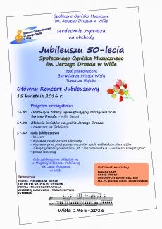 Jubileusz 50-lecia Społecznego Ogniska Muzycznego im. Jerzego Drozda