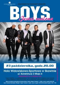 Grupa BOYS zagra w Skawinie