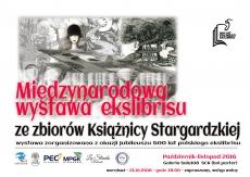 Wystawa: Jubileusz 500 lat polskiego ekslibrisu