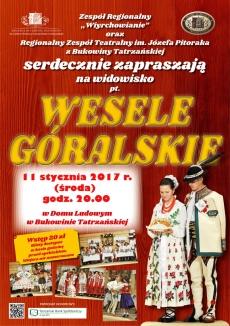 "Widowisko ""Wesele góralskie"""