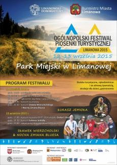 Ogólnopolski Festiwal Piosenki Turystycznej Limanowa 2015 - dzień I