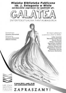 """Spektakl """"Galatea. Intertekstualna fantasmagoria"""""""