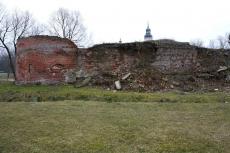 Ruiny zamku biskupów chełmińskich w Lubawie