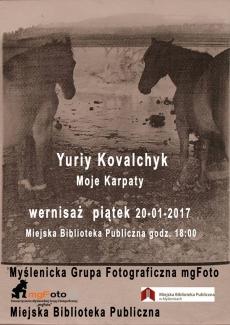 """Miejska Biblioteka Publiczna im. ks. Jana Kruczka w Myślenicach: Wystawa """"Moje Karpaty"""""""
