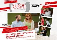 """""""Za rok o tej samej porze"""" Teatr Bagatela"""