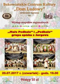 """""""Małe Podhale"""" i """"Podhale"""" grupa z Jurgowa"""