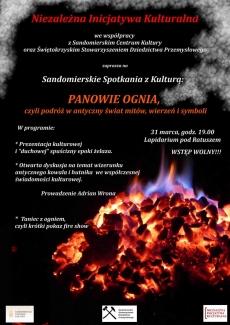 Sandomierskie Spotkanie z Kulturą: Panowie Ognia