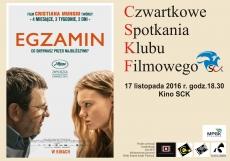 Czwartkowe Spotkania Kubu Filmowego - EGZAMIN