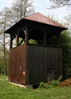 Dzwonnica kościoła w Białej
