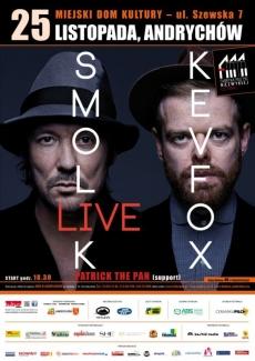 Fabryki Muzyki Niezwykłej | Koncert: SMOLIK // KEV FOX