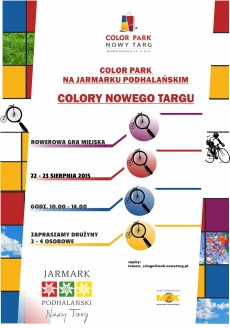 Colory Nowego Targu Rowerowi Detektywi  - rowerowa gra miejska - ETAP 1