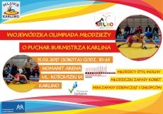 Wojewódzka Olimpiada Młodzieży o Puchar Burmistrza Karlina