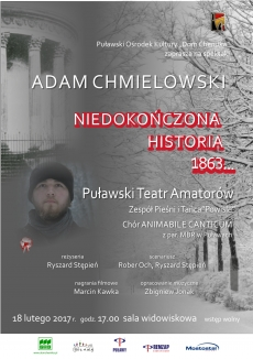 "Premiera spektaklu PTA ""Adam Chmielowski - niedokończona historia 1863..."""