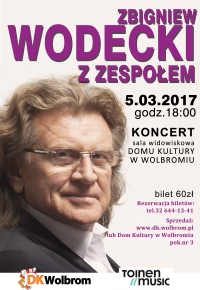 Koncert Zbigniewa Wodeckiego