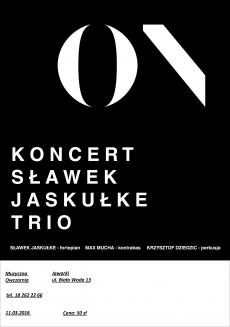 Koncert SŁAWEK JASKUŁKE TRIO
