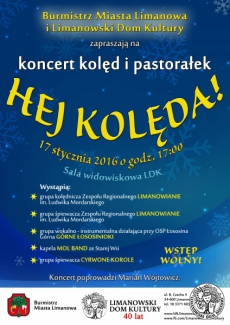 """HEJ KOLĘDA!"" - koncert kolęd i pastorałek"