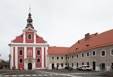 Kościół i klasztor franciszkanow w Głubczycach