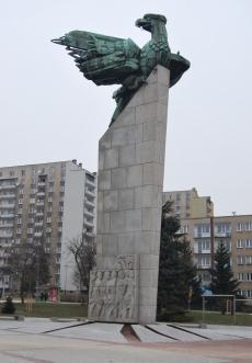 Pomnik zwycięstwa i wolności na placu Tysiąclecia